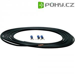 Sada napájecího kabelu a zástrček Sinus Live, 0,75 mm², černá