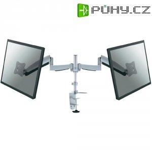 """Stolní držák na 2 monitory, 25,4 - 61 cm (10\"""" - 24\"""") NewStar FPMA-D950D, stříbrný"""