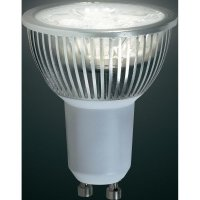 LED žárovka Renkforce, GU10, 5 W, 230 V, 62 mm, teplá bílá