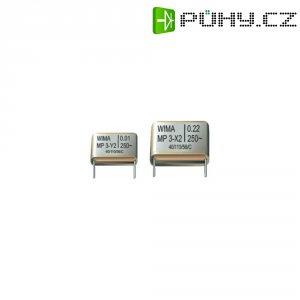 Odrušovací kondenzátor X2 Wima, 0,15 µF, 20 %, 28 x 8 x 20 mm