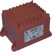 Transformátor do DPS Weiss Elektrotechnik EI 66, prim: 230 V, Sek: 15 V, 2,4 A, 36 VA