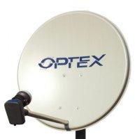 Sada satelitní paraboly Ø 60 cm a LNB OPTEX 702160
