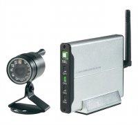 Bezdrátová venkovní kamera se 4kanálovým přijímačem , 2,4GHz, 720 x 480 px