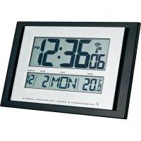 Digitální nástěnné Renkforce DCF hodiny Slim, A401, černá