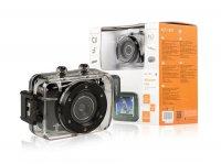 Akční HD kamera 720p s vodotěsným pouzdrem DV-ACT-1301