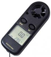 Anemometr - digitální měřič rychlosti větru a teploty GM816