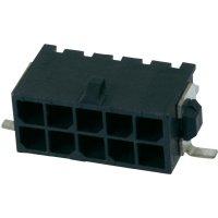 Konektor TE Connectivity Micro-Mate-N-Lok (3-794627-4), kolíková lišta úhlová, 250 V, 3 mm