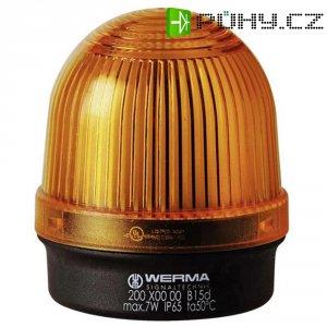 Trvalé osvětlení Werma Signaltechnik 200.300.00, 12 - 240 V / AC/DC, IP65, žlutá