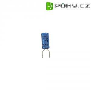 Kondenzátor elektrolytický, 10 µF, 63 V, 20 %, 12 x 5,5 mm