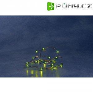 Blikající řetěz se zelenými stromečky Konstsmide