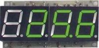 Digitální teploměr -50 až 125°C zelená barva STAVEBNICE
