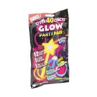 Efekt tyčinky svítící, party sada 40 kusů pro dívky