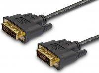 Kabel DVI-D(24+1) - DVI-D(24+1) 1,8m Savio CL-31