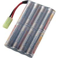 Akupack NiMH Conrad Energy AA,9,6 V, 1800 mAh, Stick, Mini-Tamiya