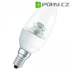 LED žárovka Osram, E14, 6 W, 230 V, 144 mm, stmívatelná, teplá bílá