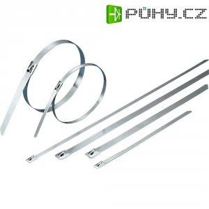 Stahovací pásek ocelový 201 x 7,9 mm, KSS-BCT201L 1112 N