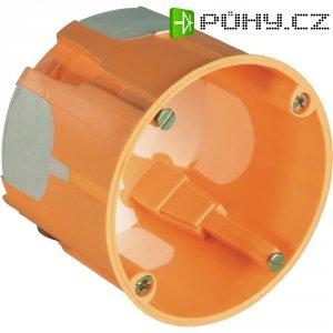 2komponentní krabice, hloubka 61 mm, oranžová, 20 ks