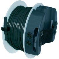 Měřicí kabel banánek 4 mm ⇔ zásuvka 4 mm Benning TA 5, 40 m, černá