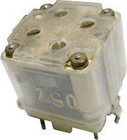 Ladící kondenzátor TSL 2x350pF+2x25pF+4x doladění