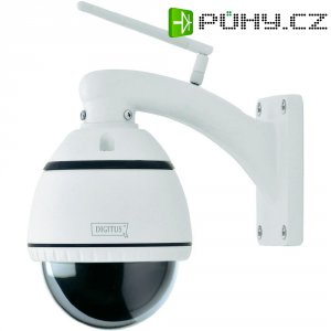 Kopulová Wi-Fi Plug & View IP kamera Digitus DN-16044, 2GB paměť, max. 1600 x 1200 px