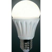 LED žárovka Renkforce E27, 6,6 W = 45 W, teplá bílá
