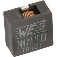 SMD vysokoproudá cívka Würth Elektronik HCI 7443557760, 7,6 µH, 20 A, 1890