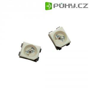 SMD LED PLCC4 Avago Technologies, HSMN-A400-S8PM2, 30 mA, 3,8 V, 120 °, 224 mcd, modrá