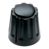 Otočný knoflík Mentor 4331.4000, 4 mm, matně černá
