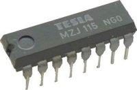 MZJ115 - klopný obvod J-K DTL, DIL16