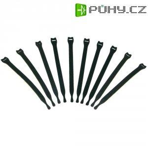 Stahovací pásek na kabely, 150 mm, sada 10 ks