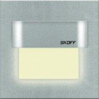 Vestavné LED osvětlení SKOFF Tango, 10 V, 0,8 W, teplá bílá, hliník