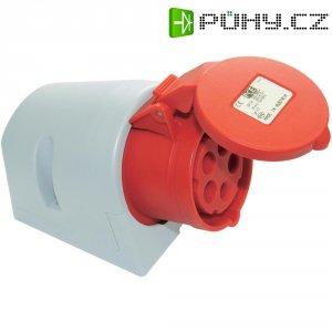 CEE zásuvka PCE, 32 A, IP44, červená
