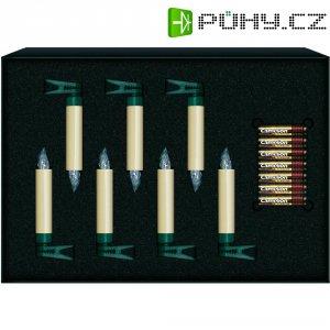 Vánoční svíčky Krinner 7 LED, teplá bílá