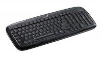 PC klávesnice GENIUS SLIMSTAR 110 USB černá