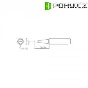 Náhradní hroty pro pájecí stanice Toolcraft T-1,2D, 1,2 mm
