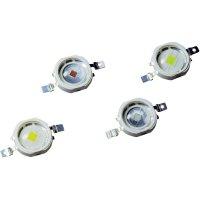 HighPower LED Avago Technologies ASMT-AY00-NSTJ1, ASMT-AY00-NTUJ1, 350 mA, 3,5 V, 140 °, tep