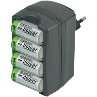 Nabíječka De.power CHG-Set 02 + 4x akumulátor CR123, 500 mAh