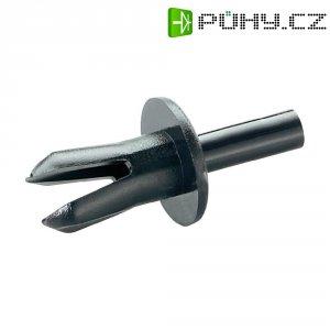 Rozpěrné nýty PB Fastener 3,4-3,6 mm, černé