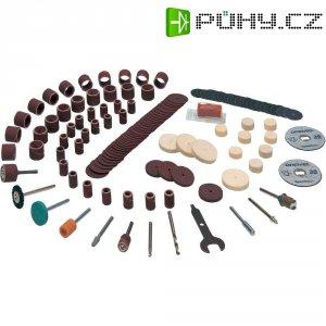 Sada brusných, leštících, řezných nástrojů Dremel 721, 135 ks