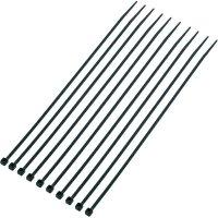 Sada stahovacích pásek KSS CV200MKBK, 200 mm x 2,5 mm, 1000 ks, černá
