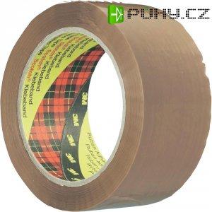 Balicí lepicí páska 3M 3739, 50 mm x 66 m, hnědá