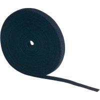 Pásek se suchým zipem Fastech 696-010, (d x š) 5000 mm x 10 mm, bílá, 5 m