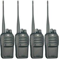 PMR radiostanice Team Electronic TeCom-SL, 4 ks, kufřík