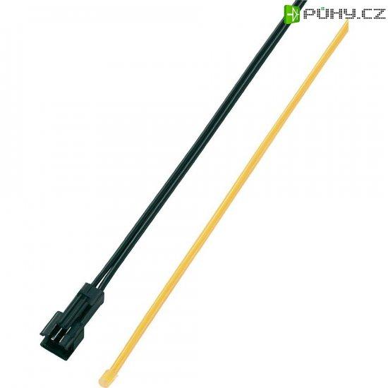 Světelný kabel Modelcraft Ø 2,2, 600 mm, oranžová - Kliknutím na obrázek zavřete