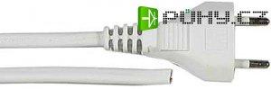 Flexo s volným koncem 2x0,5mm 5m bílá