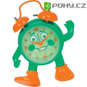 Analogový dětský budík Ticki Tack Techno Line, zelená