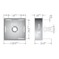 Můstkový usměrňovač B 25 3fázový Diotec DB25-08, U(RRM) 800 V, 25 A, Plast