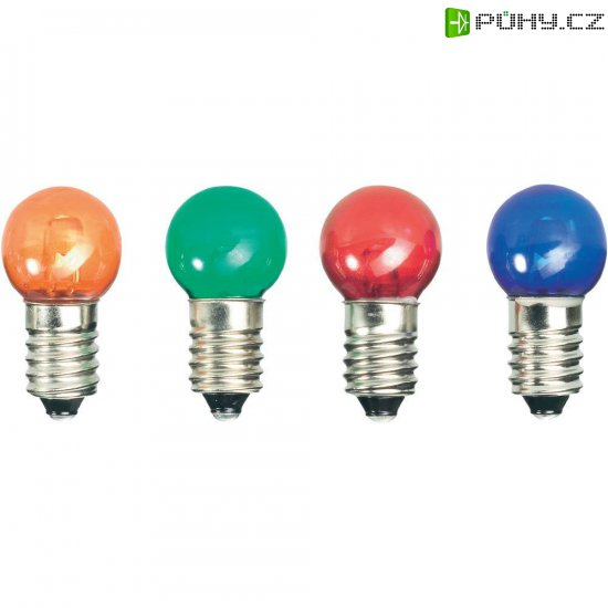 LED žárovka E10, 52211215, 12 V, bílá - Kliknutím na obrázek zavřete