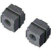 Těsnicí konektorová průchodka Rittal 2400940 (2400.940), IP64, 40 x 40 mm, černá, 10 ks