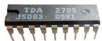 TDA2795 - TV obvod pro zvuk, DIL18